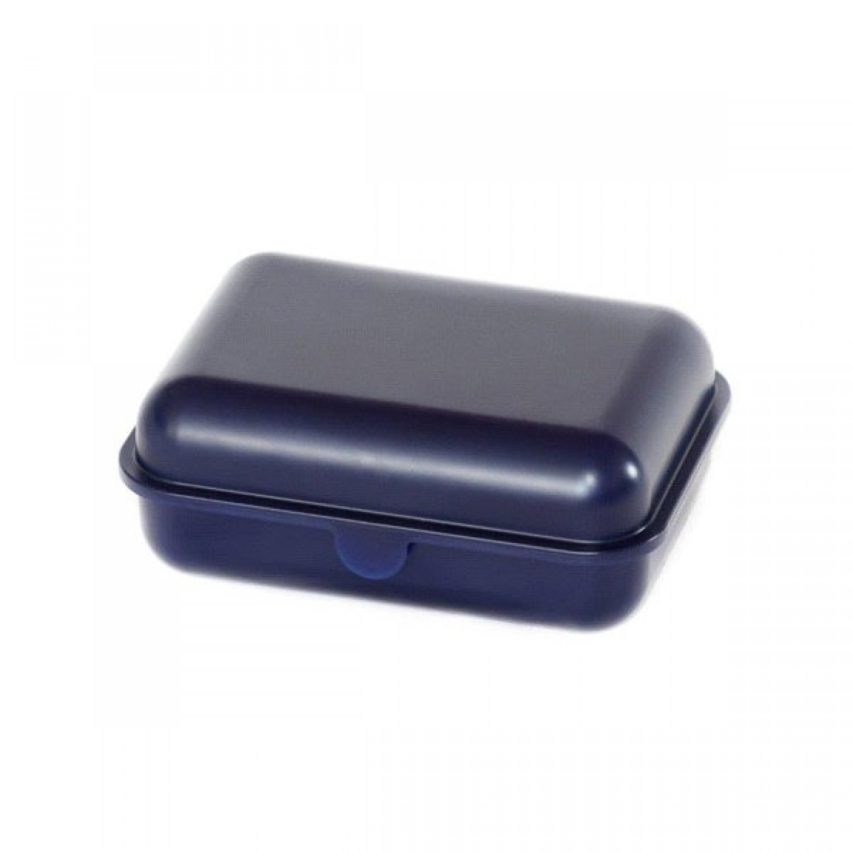 Blaue Butterbrotdose aus Bioplastik | BioFactur