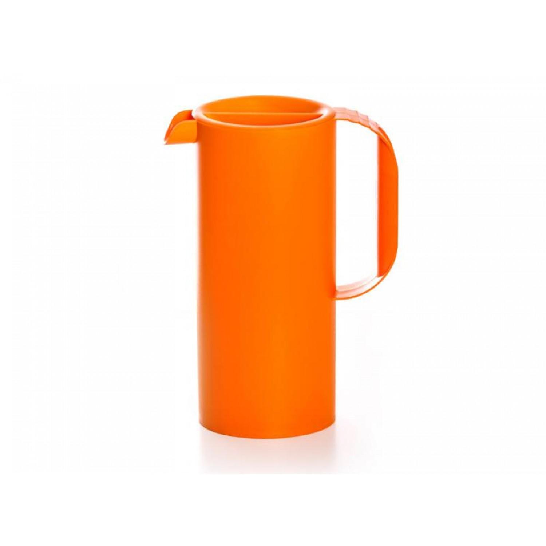 Elegante Saftkanne aus Biokunststoff in Orange