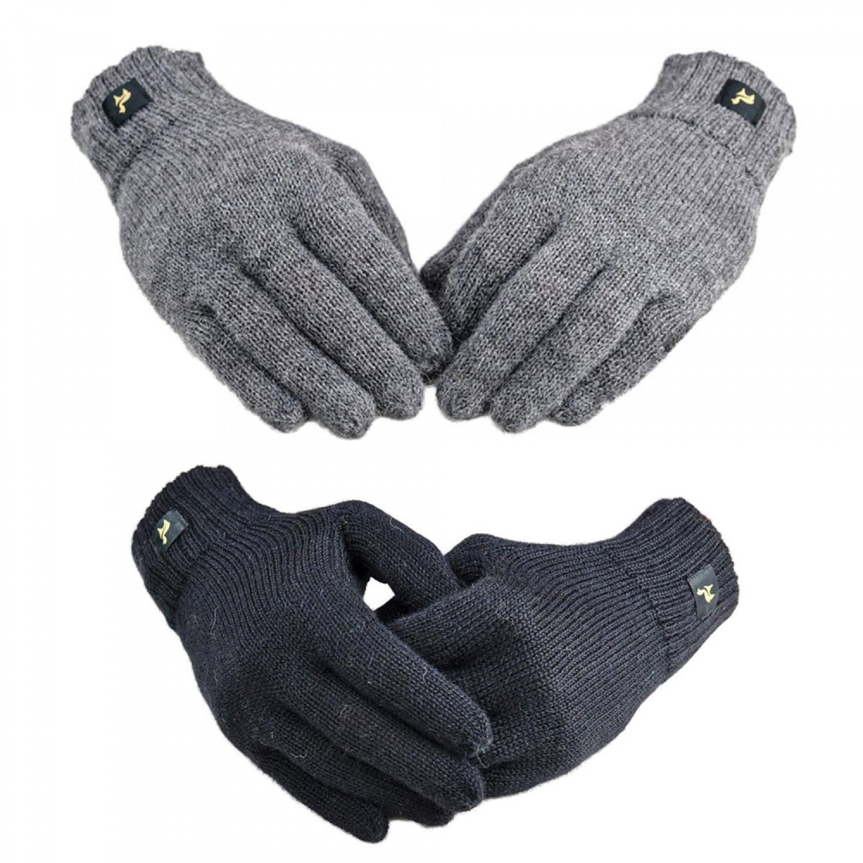 "Unisex Fingerhandschuhe ""Nevada"" aus Alpakawolle   AlpacaOne"