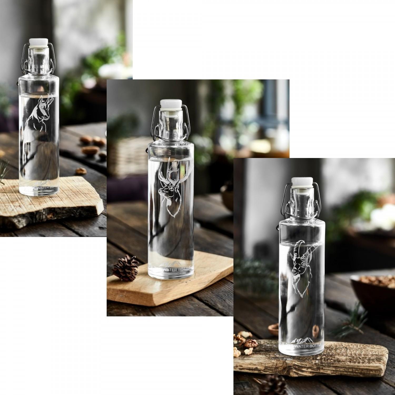 Nature's Design Alpine Water Bottle 0.6 l mit Tiermotiv