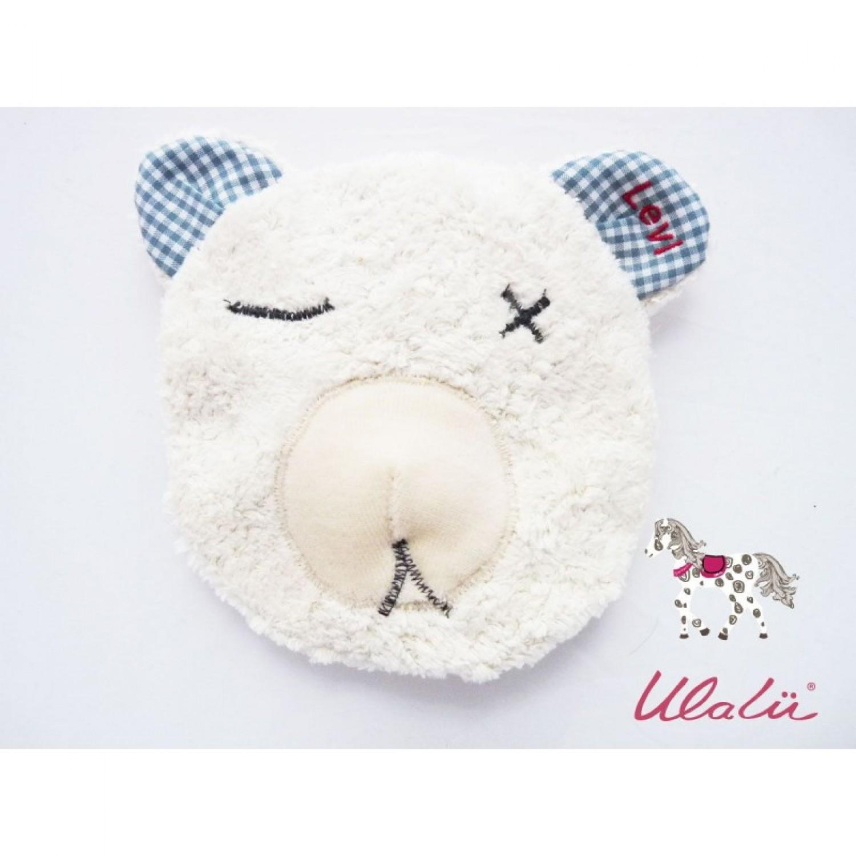 Baby Wärmekissen BÄR aus Bio-Baumwolle