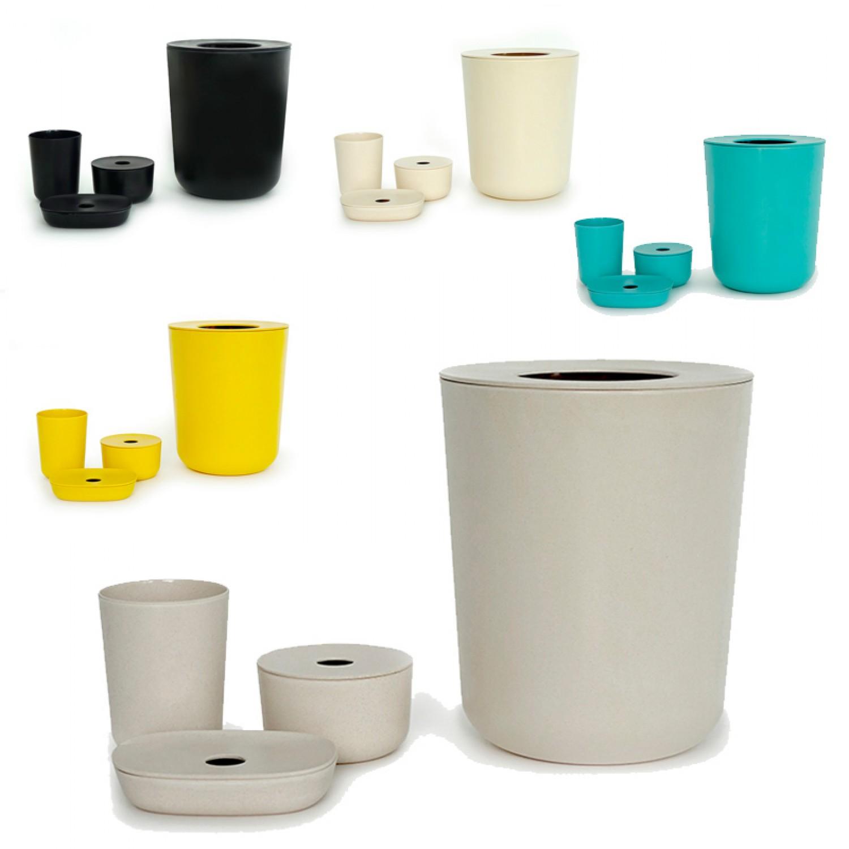 4-teiliges badezimmer set baño | biobu by ekobo | greenpicks, Badezimmer ideen