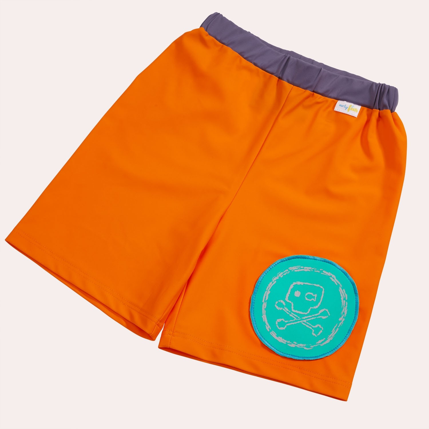 early fish UV Schutz 50+ Badeshorts Pirat Orangina