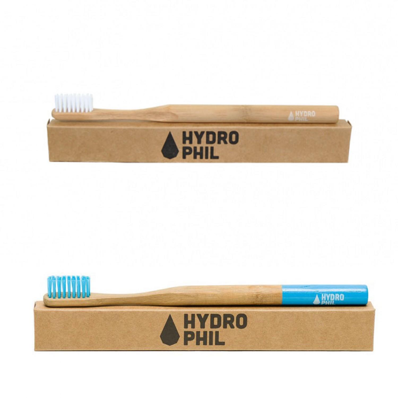 Hydrophil Nachhaltige Zahnbürste aus Bambus für Erwachsene