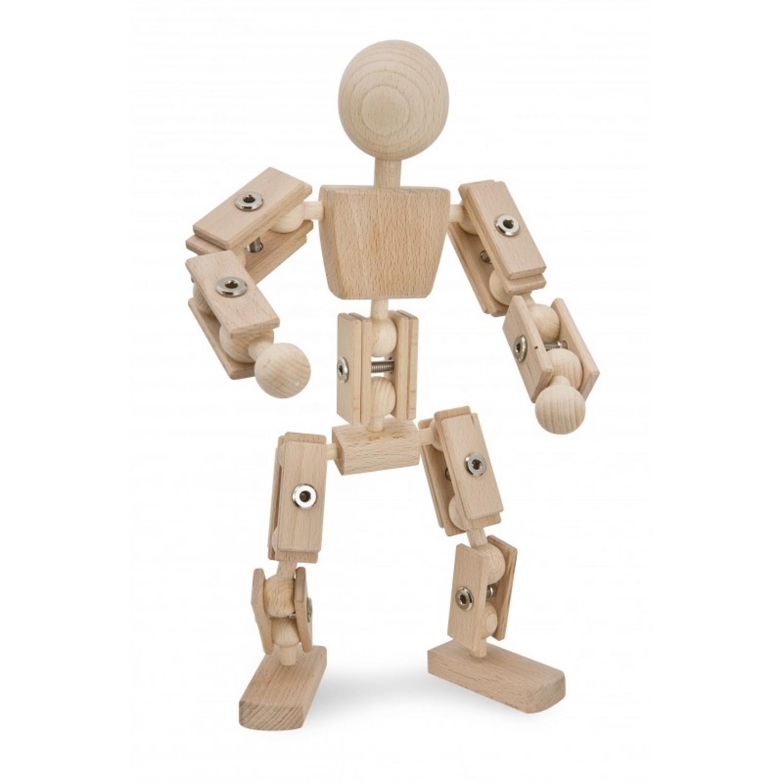 Basisfigur – Helden aus Holz