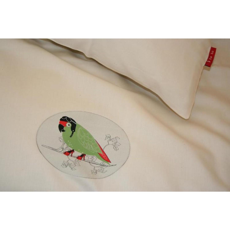 Der frühe Vogel: Bettwäsche aus Bio-Baumwollsatin | iaio