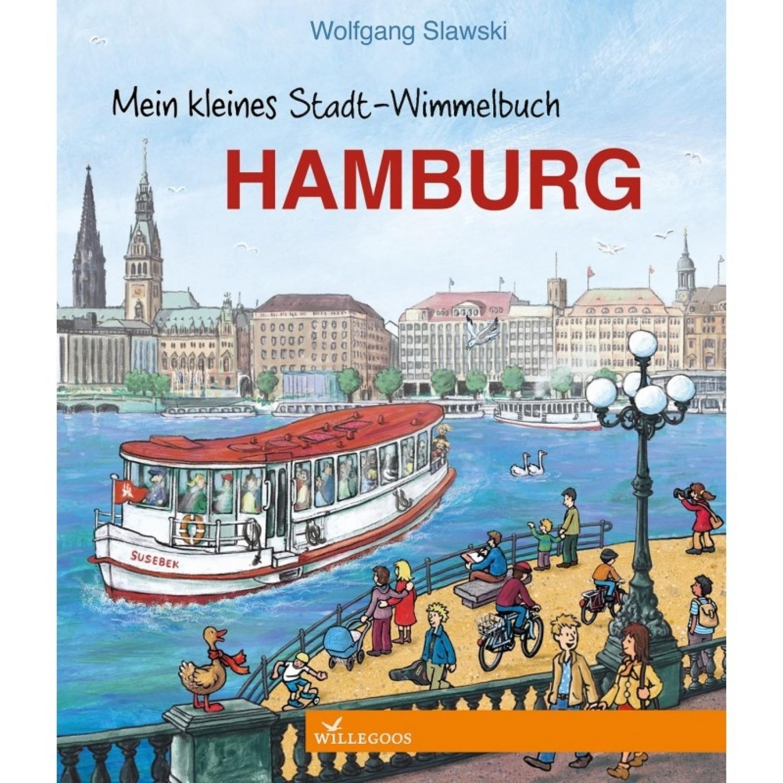 Mein kleines Stadt-Wimmelbuch Hamburg Öko Bilderbuch | Willegoos