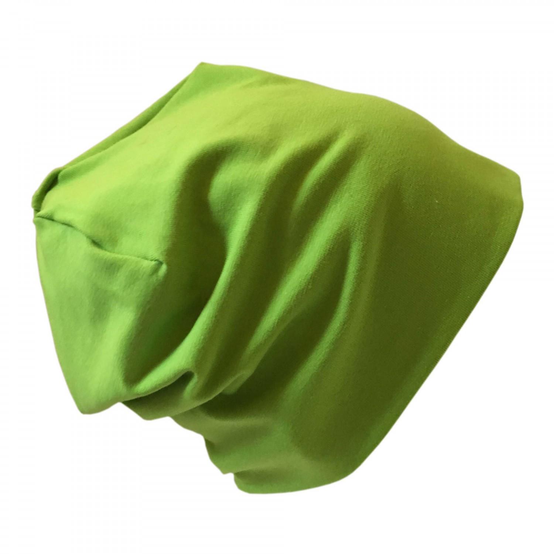 """Bio Jersey Mütze """"Line"""" Uni Lime   bingabonga"""