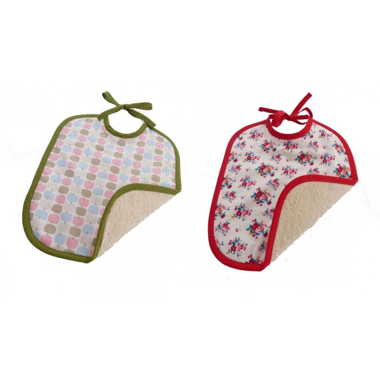 Bio Baby Lätzchen mit Bindebändern