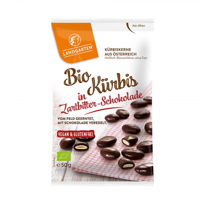 Bio Kürbis in Zartbitter-Schokolade | Landgarten