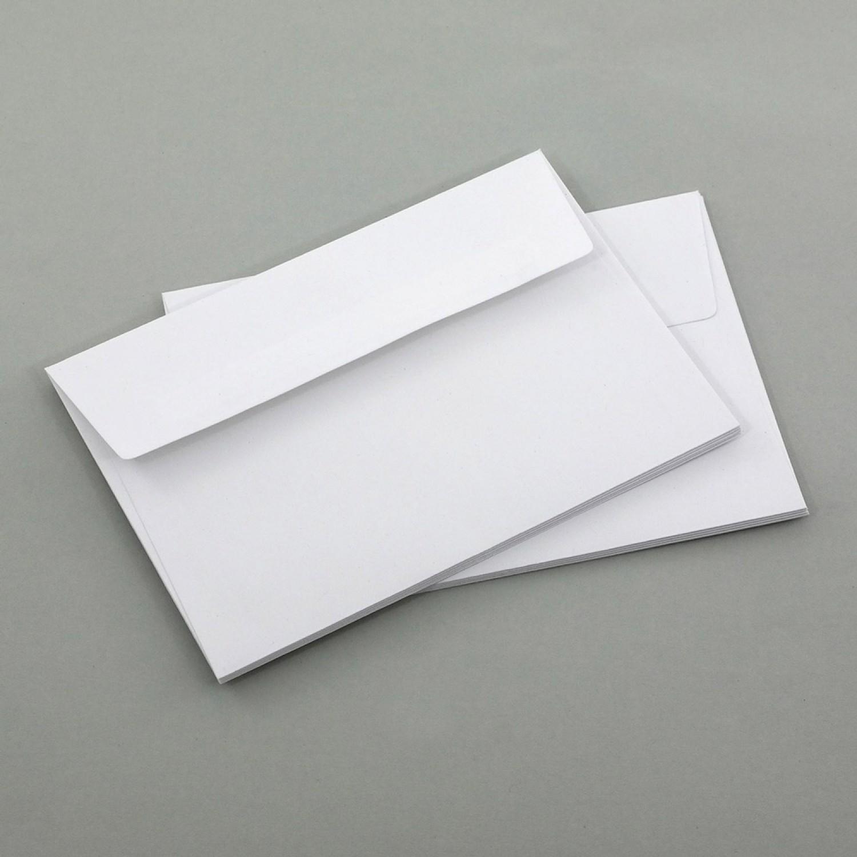 10 Briefumschläge C6 Premium-Recyclingpapier | eco-cards