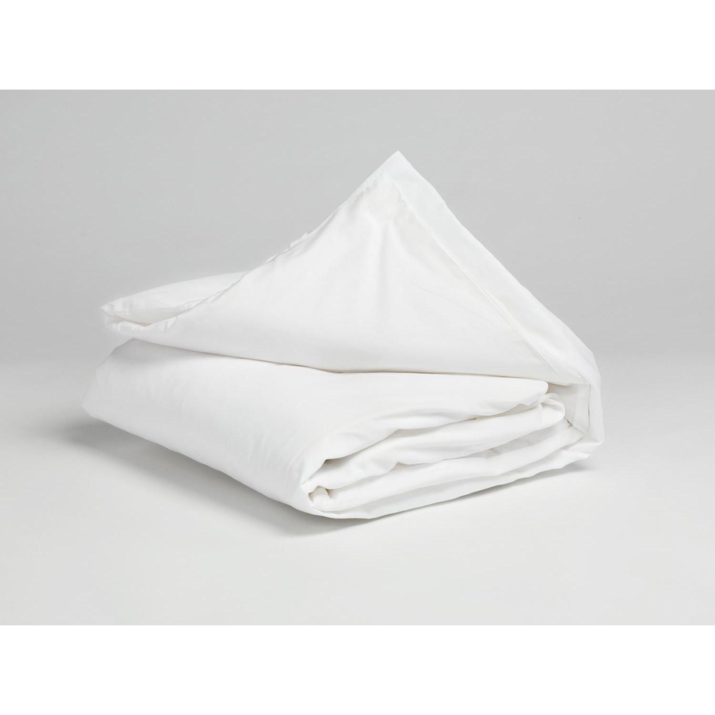 Kinder Bettwäsche Baumwollsatin Pure White