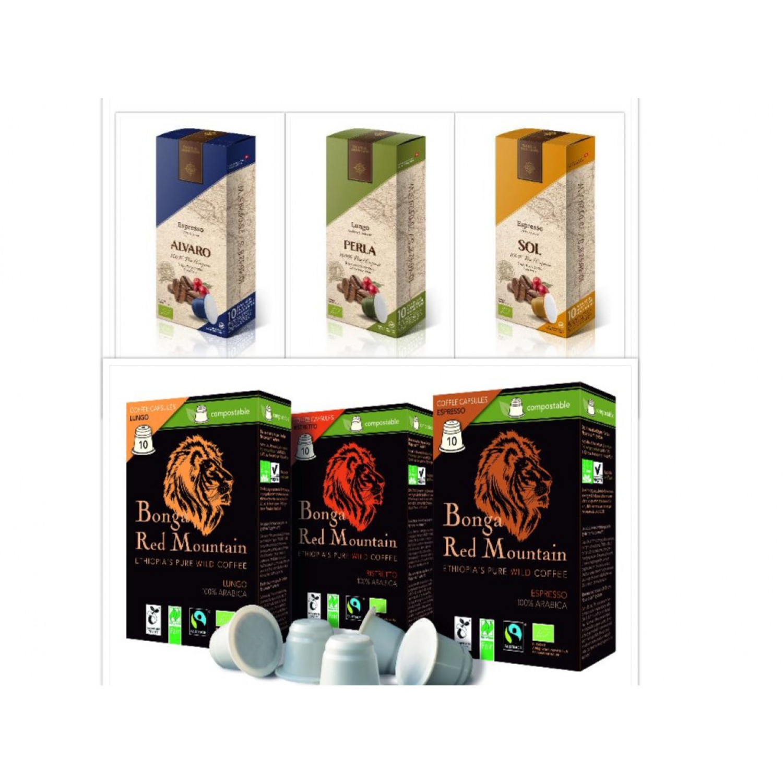 Fair Trade Kaffee - kompostierbare Kaffeekapsel