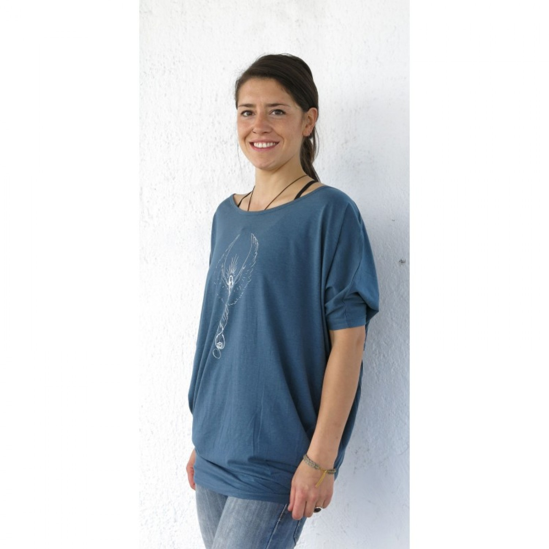 Cosmic Angel Lyocell Designer Damen Shirt