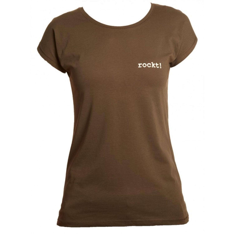 Damen T-Shirt Lady Batwing rockt Bio-Baumwolle