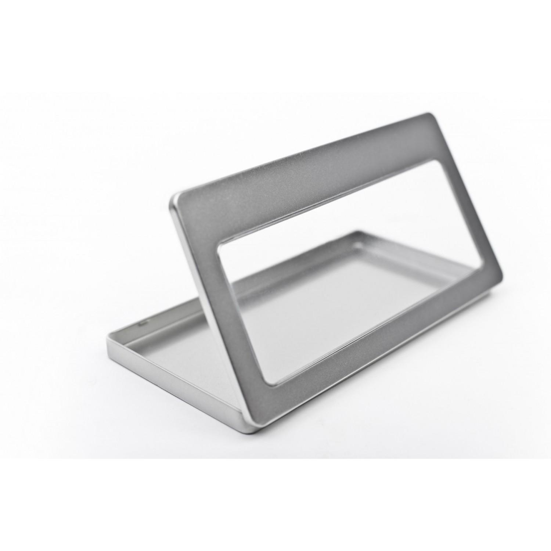 DIN lang Metalldose mit Sichtfenster | Tindobo