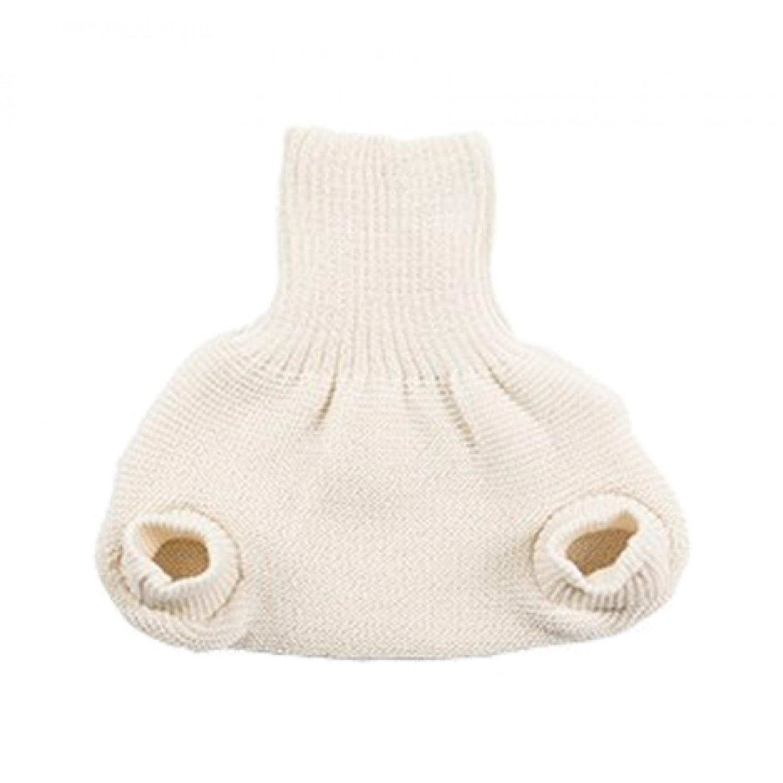 Doppelte Windelhose aus Bio-Wolle