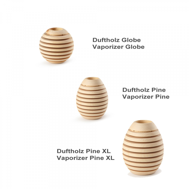 Pinus Cembra Duftholz Globe & Pine | Nature's Design