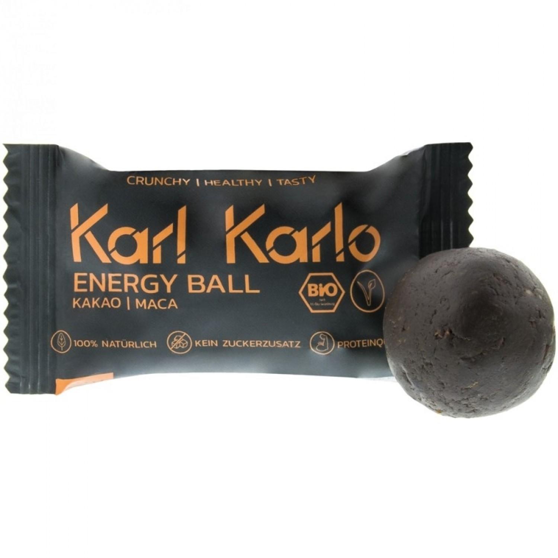 Energy Ball Kakao | Maca – Protein-Snack | Karl Karlo