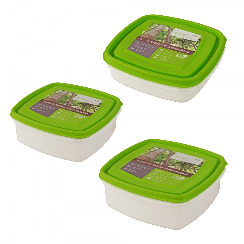 Greenline Frischhaltebox quadratisch viele Größen | Gies