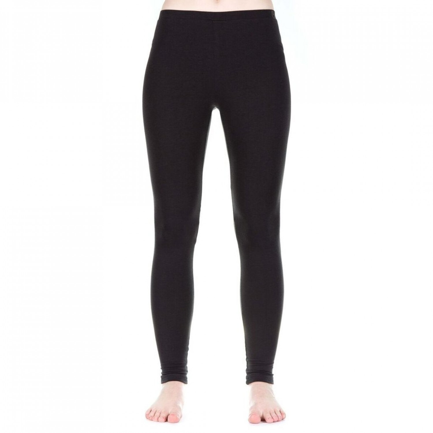 Functional Leggings Damen schwarz TENCEL® | bleed