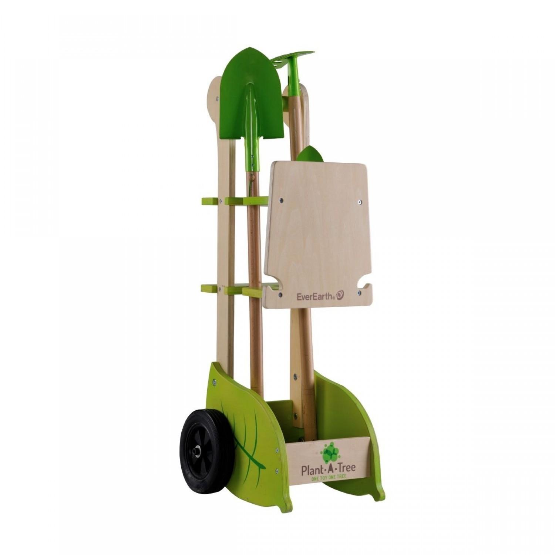 EverEarth Garten Trolley für Kinder aus FSC Holz