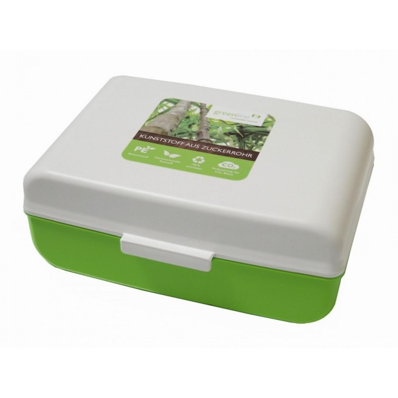 Gies ecoline Lunchbox mit Unterteilung, Öko Bentobox