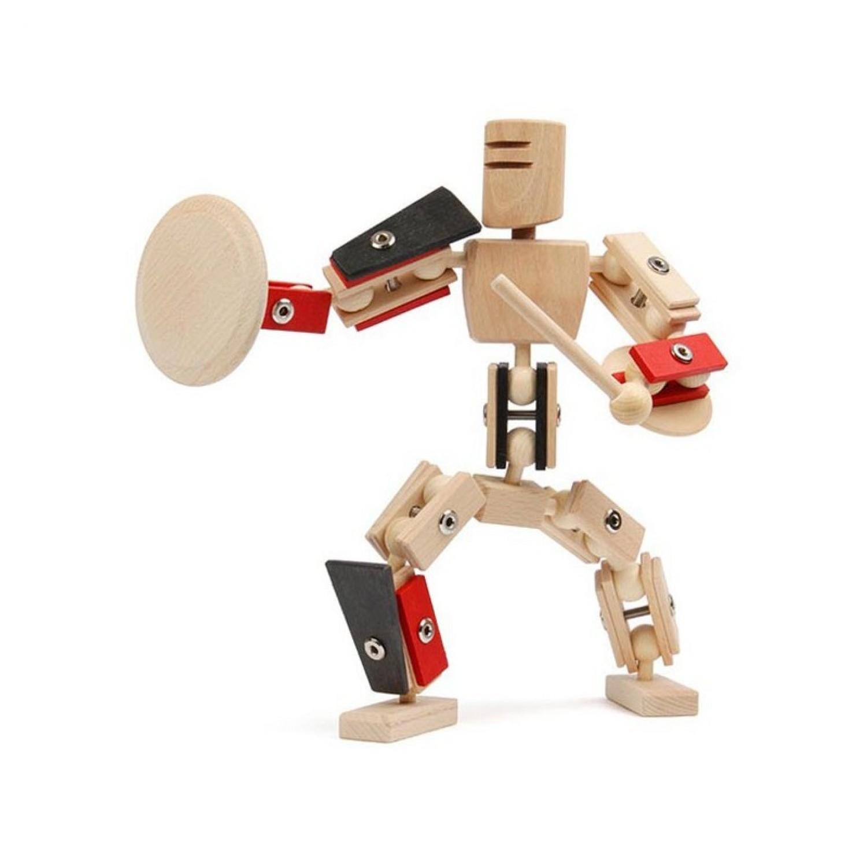 Helden aus Holz: Gladiator – Holzspielzeug