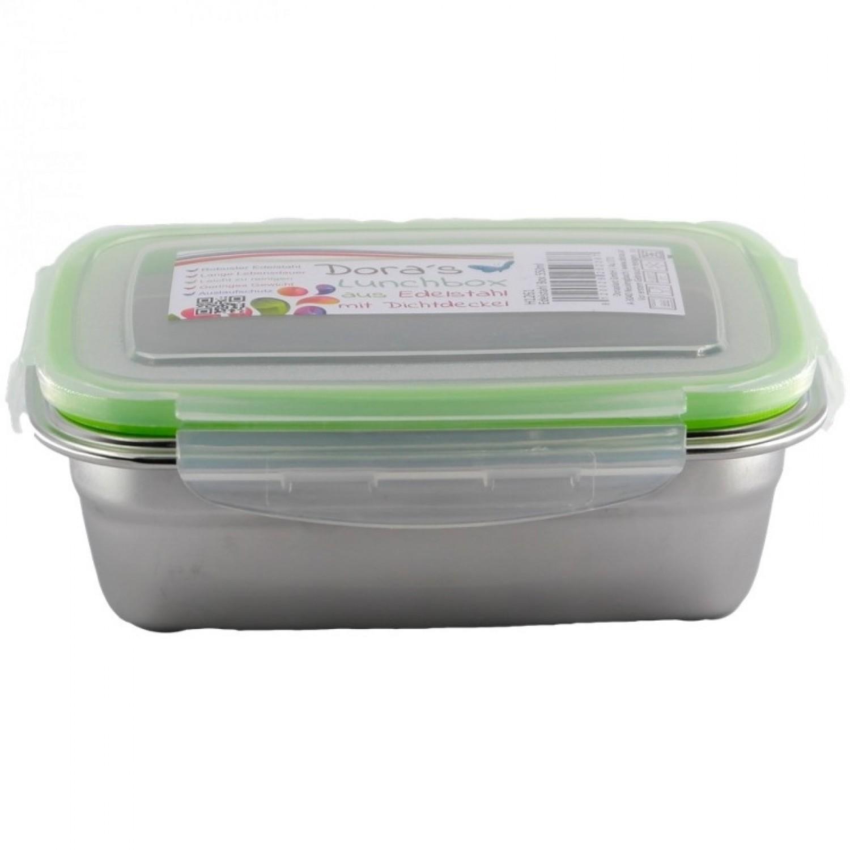 Dora's Edelstahl Box für take away, auslaufsicher