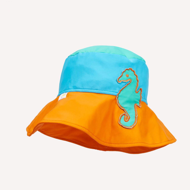Mädchen Sonnenhut Seepferdchen - UV Schutz 50+ | early fish
