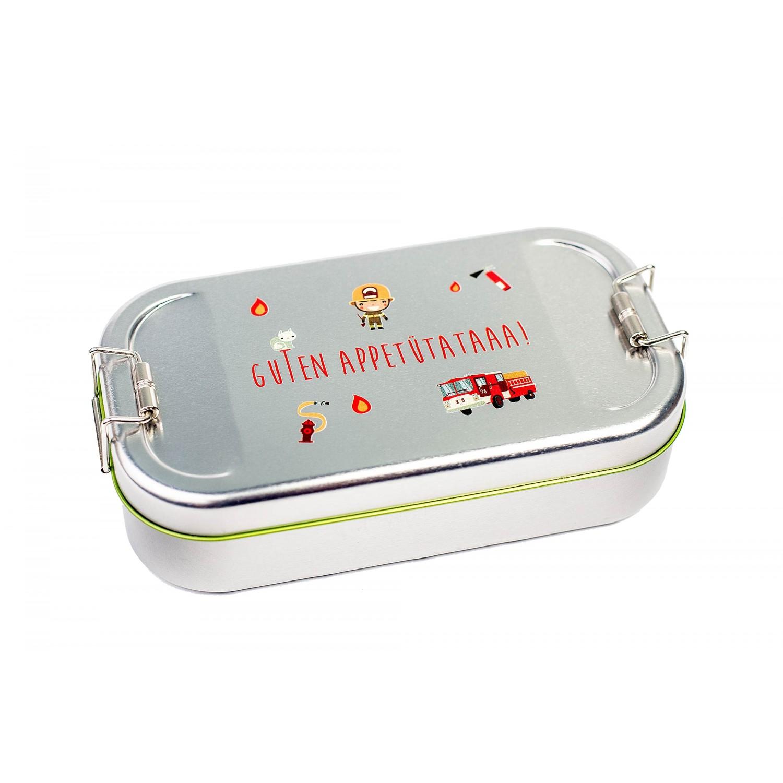 Cameleon Pack Weißblech Brotdose Guten Appetütataaa | Schöne Dosen