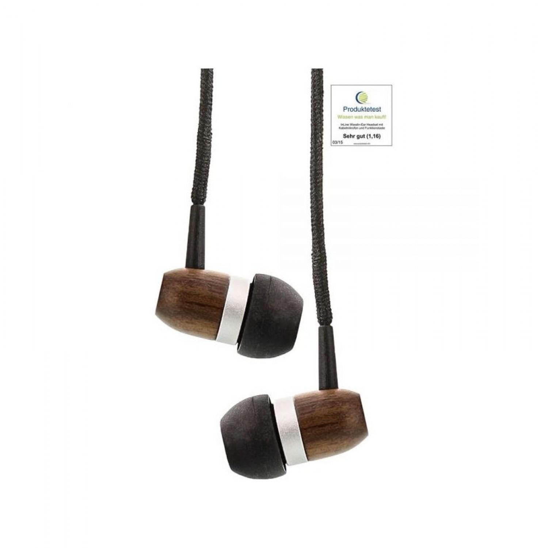 Walnuss Holz In-Ear-Kopfhörer In-Ear Headset