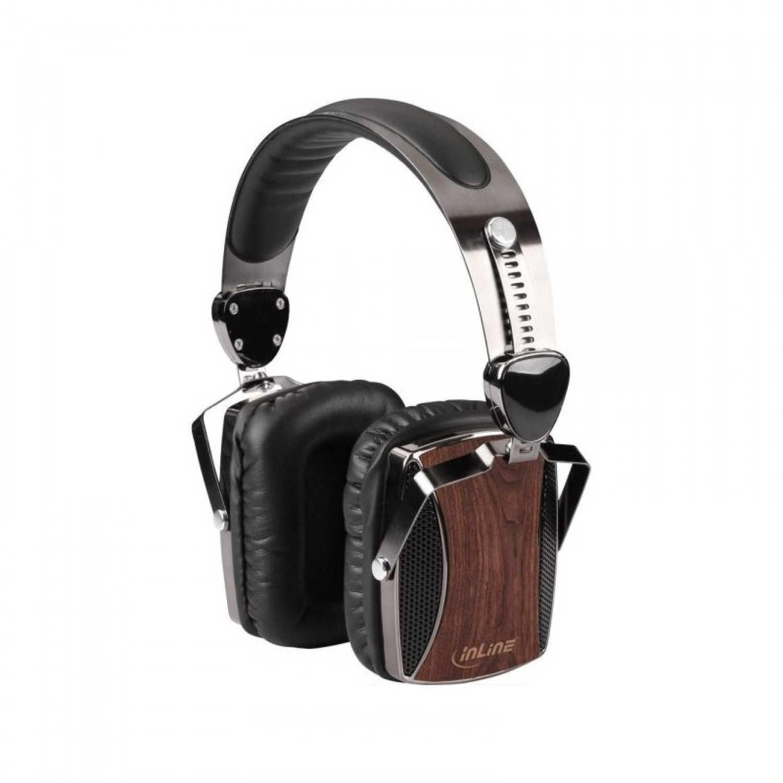 Walnuss Holz Kopfhörer Wooden On-Ear Headset