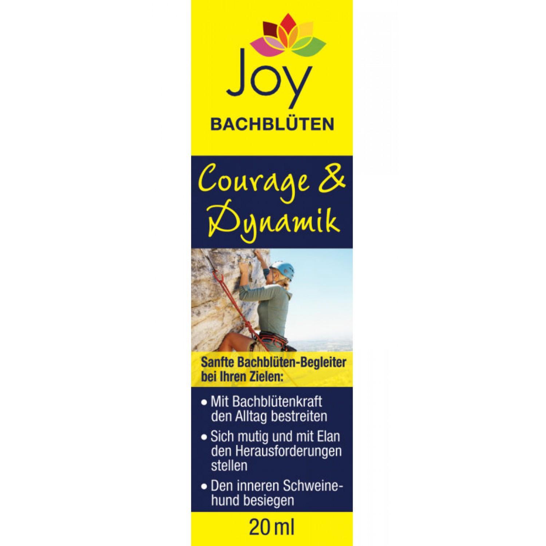 Joy Bachblüten Courage & Dynamik gegen Angst   Bilona