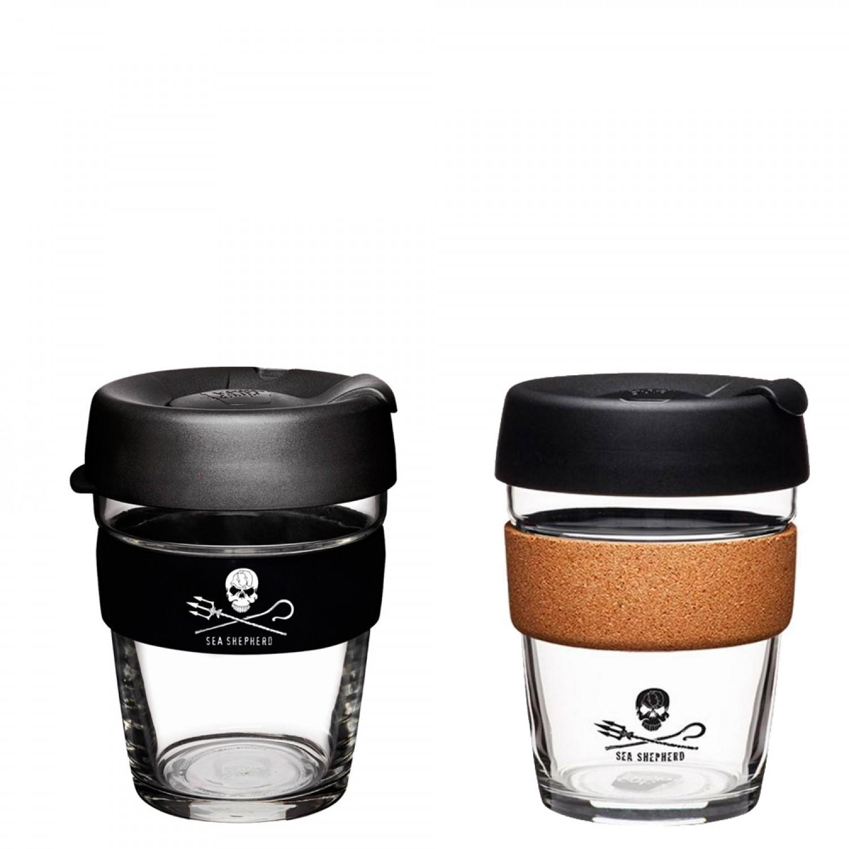 KeepCup Brew - Glas Mehrwegbecher für Kaffee & Espresso