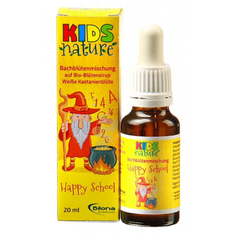 KIDS Nature Happy School – Bio Bachblüten | Bilona