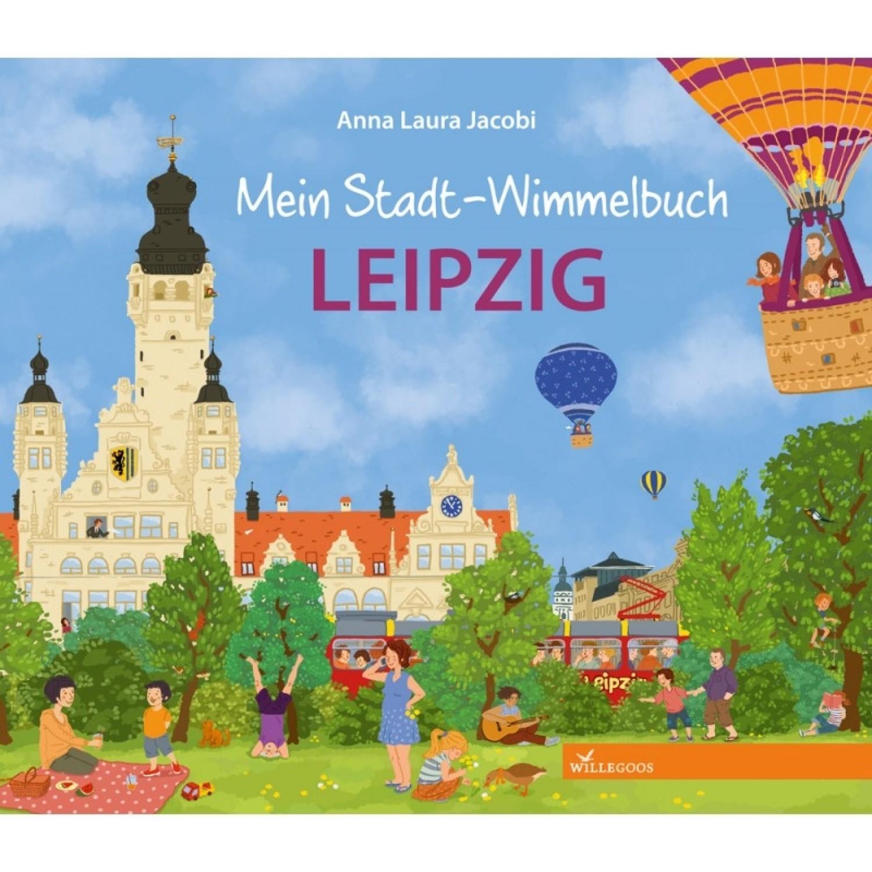 Willegoos Mein Stadt-Wimmelbuch Leipzig - Öko Kinderbilderbuch