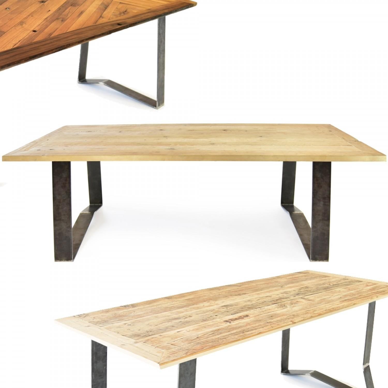 reditum Upcycling Tisch lignaro. mit Design Magnetbeinen