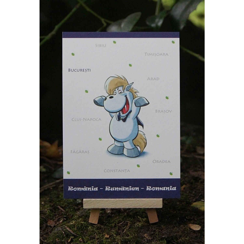 Postkarte - Weltreise - Rumänien