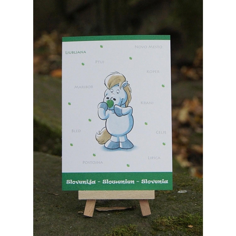 Postkarte - Weltreise - Slowenien