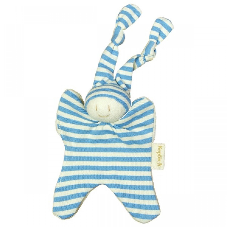 Bio Schmusetuch Little Boyo Pastellblau | Keptin-Jr.