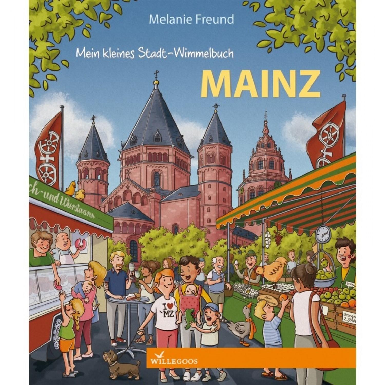 Stadt-Wimmelbuch Mainz - Bilderbuch | Willegoos Verlag