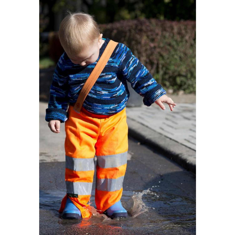 Upcycling Kinderhose – Matschhose