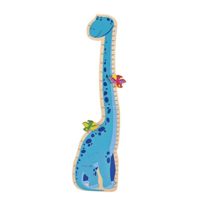 Kinder Messlatte Dinosaurier aus FSC Holz | EverEarth