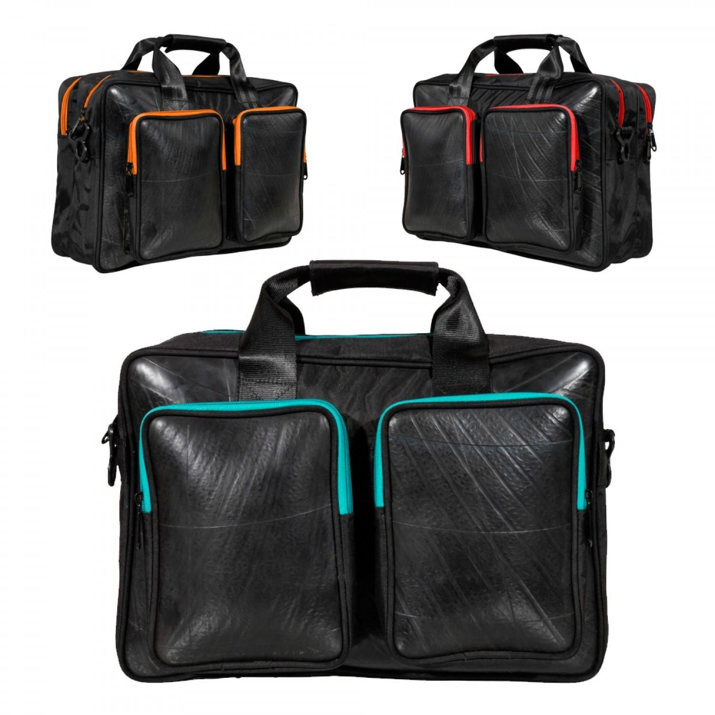 Mountain Panda Laptop Tasche - Vegan Leder   Ecowings