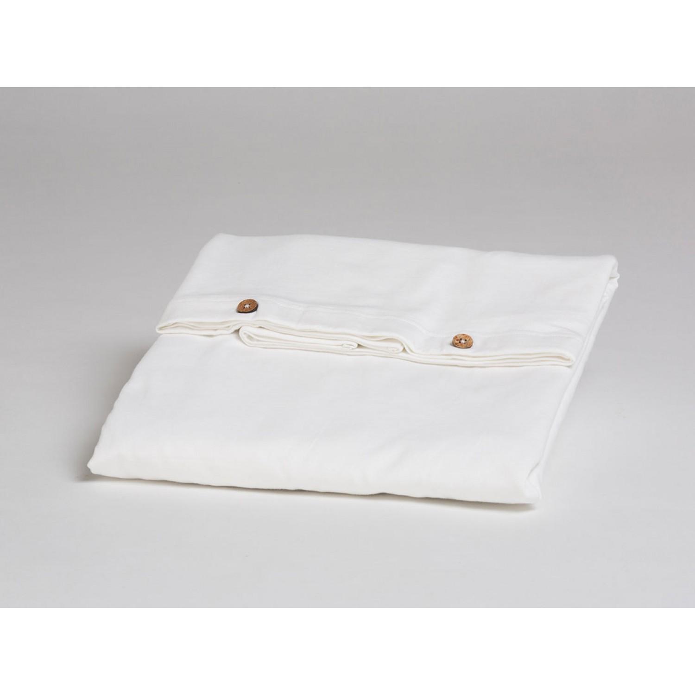 Kissenbezug Jersey Pure White