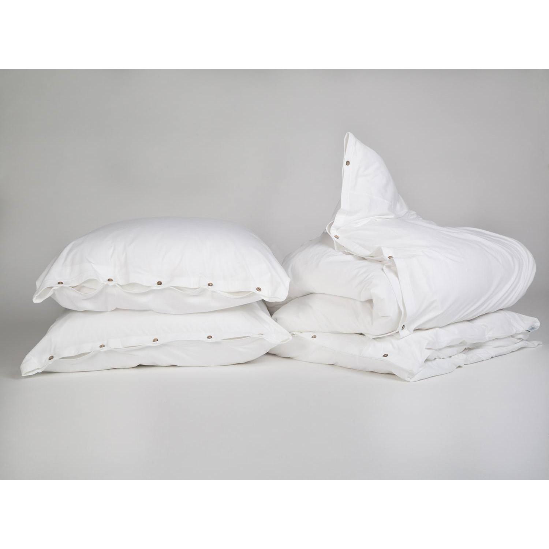 Bettwäscheset Jersey Pure White