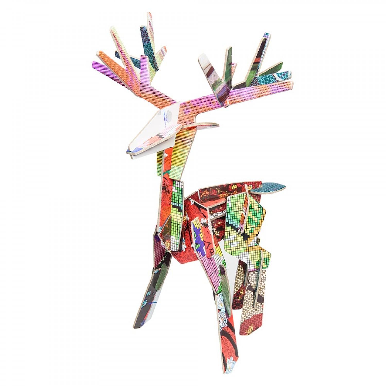 Bastelspielzeug DEER (Hirsch) von studio ROOF