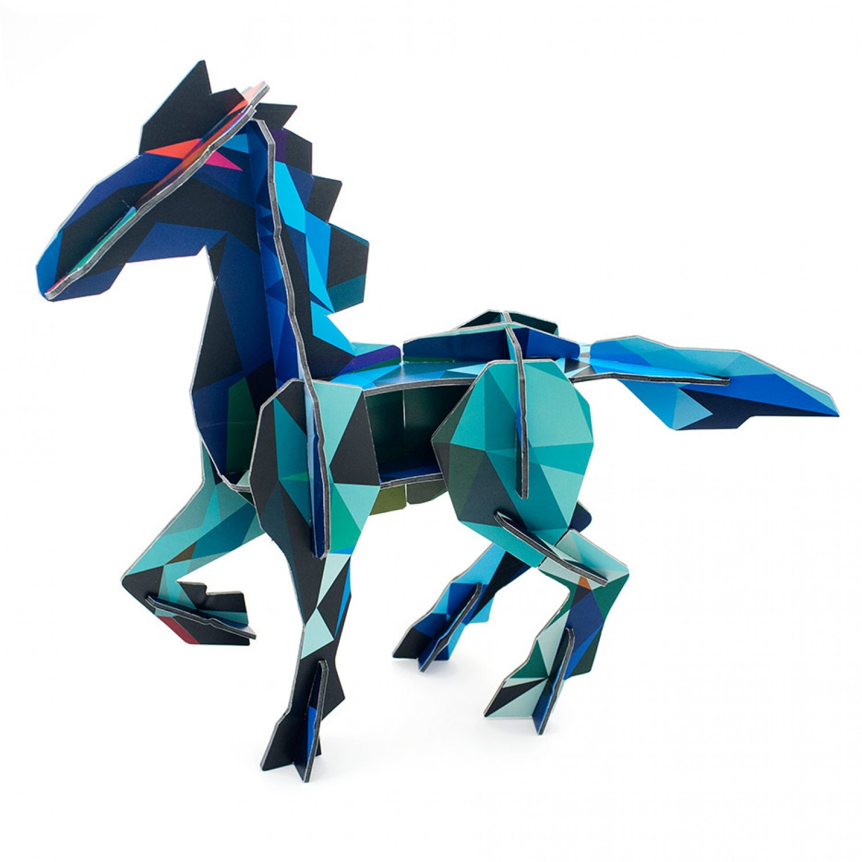 Bastelspielzeug Frysk Horse