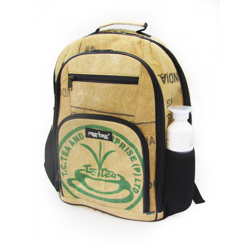 Teabag Upcycling Rucksack aus Teesäcken   Ragbag